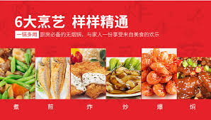 element de cuisine s駱ar馥 炊大皇炒锅32cm不粘炒锅健康无油烟炒菜锅燃煤气电磁炉通用wg15068