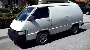 toyota minivan mugen style muffler on my 86 toyota van youtube