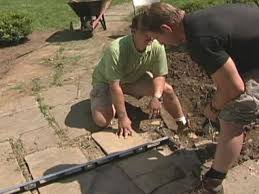 how to level a slate walkway how tos diy