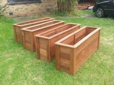 Redwood Planter Boxes by Large Redwood Planter Boxes Made For Tall Bamboo Trick