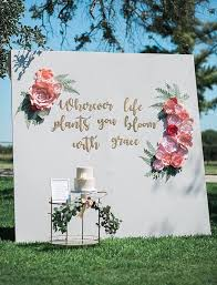 wedding backdrop flowers best 25 flower backdrop ideas on big flowers big