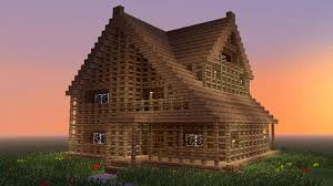 minecraft how to build big wooden house devin pinterest