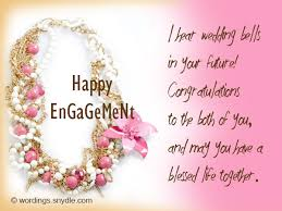 happy engagement card engagement wishes wordings and messages