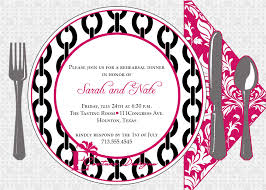 6 best images of dinner party invitations printable templates