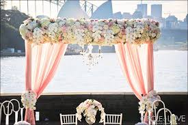 wedding backdrop outdoor wedding backdrops 25 stage sets for a fairy tale wedding