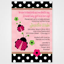 free printable invitations color free babyshower printable invitations ladybugs