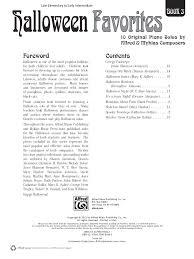 halloween favorites book 3 by various j w pepper sheet music