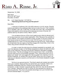 patent agent cover letter 2756