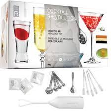 dvd recettes de cuisine touslescadeaux grand kit coffret cocktail moléculaire cuisine