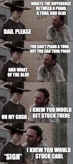 Grimes Meme - rick and carl long meme imgflip