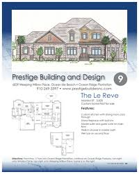 single family home floor plans brunswick county parade of homes