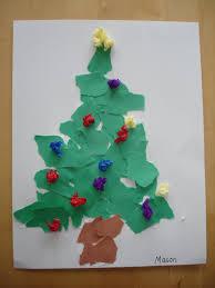 tissue paper christmas tree christmas lights decoration