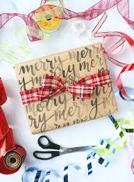 brown paper packages christmas wrap ideas lily u0026 val living