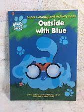blues clues coloring books ebay