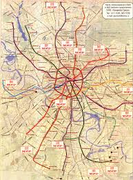 Moscow Metro Map by Pictures Of Public Transportation