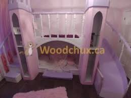 Princess Castle Bunk Bed Princess Castle Bed Kijiji In Ontario Buy Sell U0026 Save With