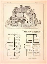 Victorian Era House Plans Shingle Style House Plan From The 1920 U0027s Plan Is From The