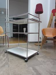 designer servierwagen trolley usm haller