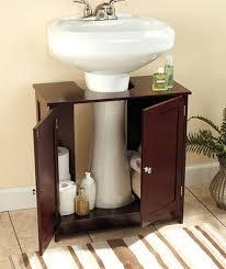 under pedestal sink storage cabinet bathroom storage with pedestal sink wonderful under pedestal sink
