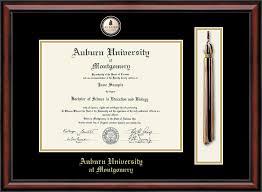 auburn diploma frame auburn montgomery tassel masterpiece edition diploma