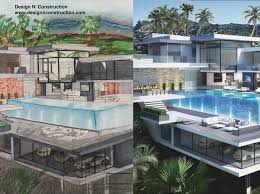 house with pool how to draw a modern house with pool tutorial