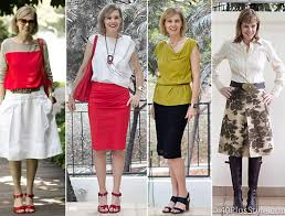 what is the perfect skirt length and skirt type for women over 40