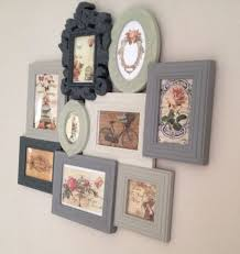 Cheap Shabby Chic Photo Frames by Best 25 Picture Frame Walls Ideas Only On Pinterest Wall Frame