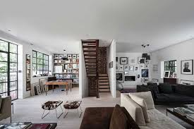 interior design minimalist home minimalist work office home interior design with wooden stair also