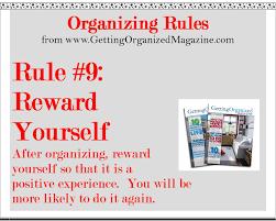 organizing yourself the fun part of organizing reward yourself organize anything
