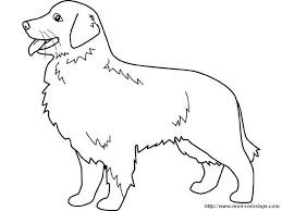 printable 16 golden retriever coloring pages 4690 dog color