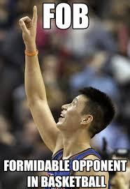 Jeremy Lin Meme - jeremy lin is successful asian american basketball star comediva