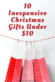 10 inexpensive christmas gifts under 10