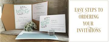 order wedding invitations how to order wedding invitations