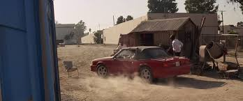 lethal mustang imcdb org 1991 ford mustang gt in lethal weapon 3 1992