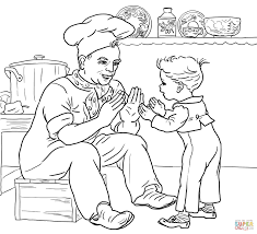 pat a cake coloring page free printable coloring pages