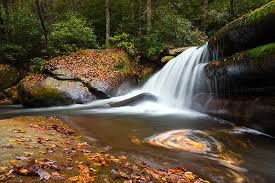 North Carolina landscapes images North carolina appalachian autumn waterfall landscape photography jpg