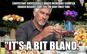 Baking Meme - the great british meme off mr triceratopping