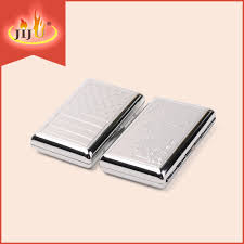 metal cigarette case with lighter metal cigarette case with