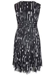 roaman u0027s roaman u0027s black sleeveless ribbon seam dress plus