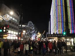 file oxford street debenhams store christmas decorations 2011 2