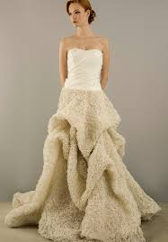 kleinfeld wedding dresses christian siriano for kleinfeld strapless gown with a line