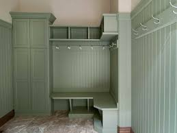 Entrance Storage by Furniture White Painted Hardwood Mudroom Locker With Twin Height