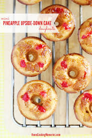 mini pineapple upside down cake donuts recipe home cooking memories