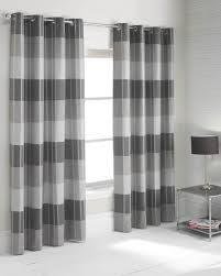 Grey And White Striped Curtains Especial Minimalist Living Room Grey Chevron Curtain Panels Wooden