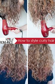 flip hair upsidedown and cut how to style curly hair hair romance