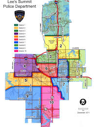 Missouri Zip Code Map Police Department Lee U0027s Summit Missouri