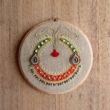 Home Decor Online Stores India by Jewel Hoops Royal Round Necklece From The Exclusive Home Decor