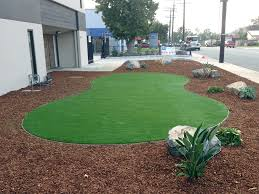 Artificial Landscape Rocks by Fake Grass Lake Elsinore California Landscape Rock Commercial