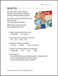 free printable first grade reading worksheets worksheets