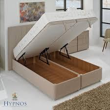 Super King Ottoman Storage Beds by Hypnos Super Storage Ottoman Divan Vale Furnishers